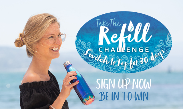 Take the Refill Challenge sign up now and be in to win